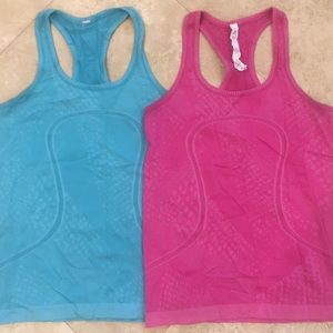 Lulu lemon Racerback Tanks